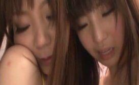 Lésbicas asiáticas transando